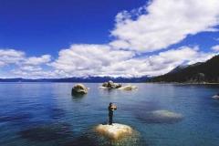 Celestial Sounds on Lake of the Sky
